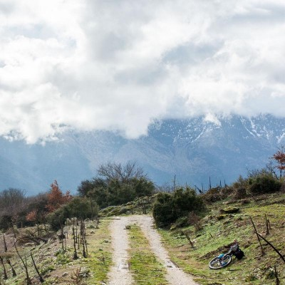 Велопоход по Греции в стиле байкпакинг